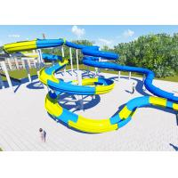 Best High Platform Water Park Design Slide , Amusement Park Design Construction Team wholesale