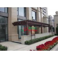 Best Durable Fire Resistance Wall Mounted Pergola Rotproof Split Resistance No Cracking wholesale