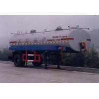 Best Hong Zhou 7.4 m 10 t 1 axis tanker semi-trailer HZZ9140GYY wholesale