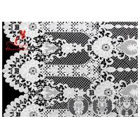 Best Allover Floral Embroidered Lace Fabric French Venice Guipure Lace Via SGS & OEKO wholesale