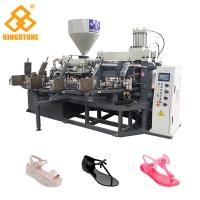 Best Automatic Rotary One Color Sandal Making Machine For Plastic Jelly Shoes wholesale