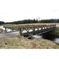 Hot Dip Galvanized Mabey Compact 200 Bridge Temporary Vehicle Bridge With Two Traffic Lanes