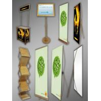 Buy cheap Bamboo Banner Stand from wholesalers