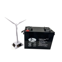 Best FOBERRIA Maintenance Free UPS Deep Cycle Battery For Solar 175mm Agm 12v 90ah wholesale