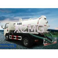 Best 9.0L Special Purpose Vehicles, Vac Truck For Transporting Feces / Sludge / Screes wholesale