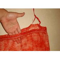 Best PE Polyethylene Plastic Woven Industrial Mesh Bags , Firewood Sacks Large Capacity wholesale