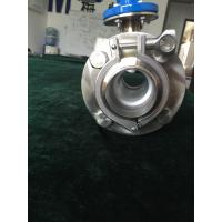 Quality Clamp type magnetic flow meter for sanitary grade and easy installation for full SS304 wholesale