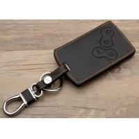Best Renault car accessories , Leather Key Bag with Chromed Metal Hook wholesale