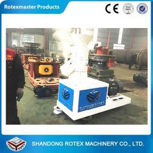 Best 500Kg/h Well working Pine Biomass wood pellet machine , flat die pellet press wholesale