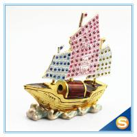 ... Metal & Crystal Trinket Box Sailing Shape Jewelry Box SCJ679 wholesale