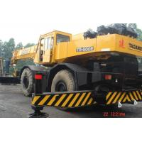Best Rough Terrain Second Hand Truck Cranes , Truck Mounted Crane TADANO TR 500E wholesale
