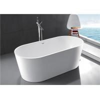 Best Compact Acrylic Free Standing Bathtub 1 Person Capacity 2 Years Warranty wholesale