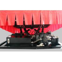 6 Dof Hydraulic 5D cinema / 9d cinema , 5D Movie Equipment with difference color
