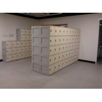 Best Anti UV Aging Plastic School Lockers 4 Comparts 1 Column With Combination Lock wholesale
