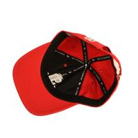 Cheap Sublimation Wool Baseball Sports Dad Hats With Logo 3d Embroidery Red for sale