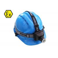 China Zoomable Adjustable Explosion Proof LED Headlamp Flashlight Multiple Carry Way on sale