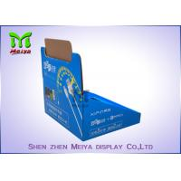Cheap Printing Logo POP Up Countertop Cardboard Display Stand For Liquid Bottles for sale