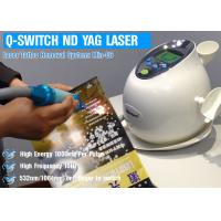 Quality Q Switched ND YAG Laser Tattoo Removal Machine , Skin Care Machine Painless wholesale
