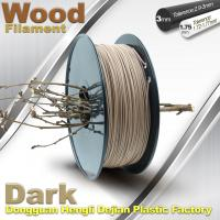 Best Anti Corrosion Wooden Filament For 3D Wood Printing Material 1.75mm / 3.0mm wholesale