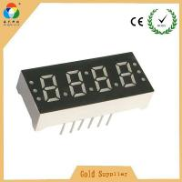 Best Wholesale price super red 4 digits led 7 segment numeric display for led clock with CC & CA wholesale