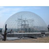 Details Of 35m Aluminum Structure Transparent Large Dome Tent With Pvc Coated 107165420