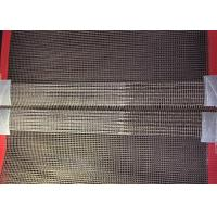 Best Fiberglass Wire Mesh Teflon Conveyor Belts For Oven With Red Wedge And Joint wholesale