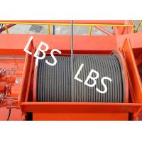 Best High Efficiency Carbon Steel Tower Hoist Winch With Lebus Grooved Drum wholesale
