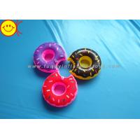 Buy cheap Mini Delicious Food Inflatable Toys Donut Cup Holder for Party Fun / Bath Time from wholesalers