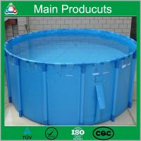 China New Design Products Portable Flexible Cube Structure Fish Farming Tanks for Sale on sale