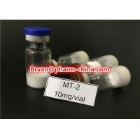 Best Health Muscle Buidling Steroids Hot Sale Legit Peptide Melanotan-2, Mt-2, Melanotan II CAS: 121062-08-6 2mg/vial for Mus wholesale