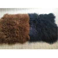 Best 10-15cm Long Hair Real Sheepskin Rug Mongolian Super Soft Texture For Bedroom wholesale