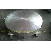 Best P355QH EN10273 Carbon Steel Forged Disc  PED  Export To Europe 3.1 Certificate Pressure Vessel Blank Flange wholesale