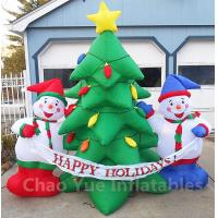 Details Of 2015 Hot Sale Inflatable Christmas Tree Snowman