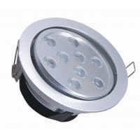 Best 9W AC85 - AC265V 6063 Aluminium Long-life Indoor Led Recessed Ceiling Lights For Kitchen wholesale