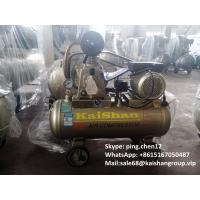 Cheap Industrial Piston Rings Type Air Compressor For Sandblasting 0.75kw / 1hp Motor for sale