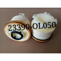 Quality Yellow White Vehicle Air Filter 23390-0L050 Fuel Filter Replacement For Toyota wholesale