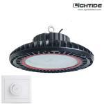 Best Lightide 200W Dimmable UFO LED High Bay Light Fixtures, 160 LPW, 10-yrs Warranty wholesale