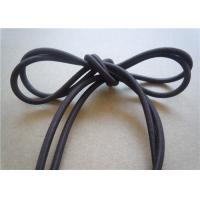 Cheap Washable Black Waxed Cotton Cord 1Mm No Slip Custom For Decoration for sale