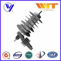Best 18KV Silicon Rubber Metal Oxide Station Class Surge Lightning Arresters for Transformer Protection wholesale