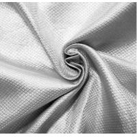 Best 100%silver RF shielding silver fiber fabric for military tent anti-signal fabric wholesale