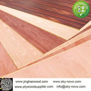 China 18MM wood grain malemine plywood on sale
