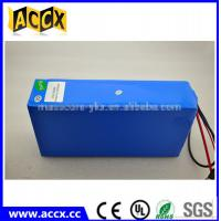 Best New! Rechargeable Electric Bicycle Batteries 48V 15AH Lithium Ion PVC Battery wholesale