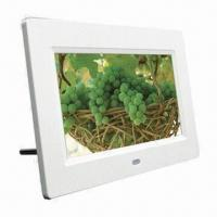 Best 7-inch Digital Photo Frame with Built-in Stereo Speaker and AV Output wholesale