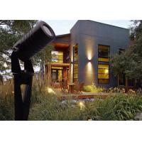 China IP65 LED Outdoor Spotlights With Black Color Die-casting Aluminum Housing For Garden Lighting on sale
