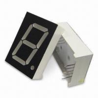 China 1.0-inch 25.4mm Multiplex PO Clock Single-digital 7 Segment LED Displays, Comes in Various Colors on sale