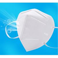 Best GB2626-2006 Approved KN95 Disposable Folding Non-Valve 5 Layer Auti-dust Non-woven Mask KN95 Protective Mask KN95 Dust wholesale