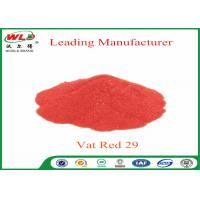 Best Deep Dyeing Chemical Dyes C I Vat Red 29 Vat Scarlet R Vat Dyes And Pigments wholesale