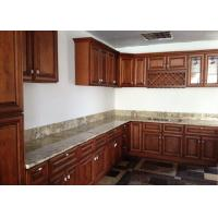 Best Fabricated Natural Stone Countertops AJ Brown Granite Cabinet Tops For Decoration wholesale