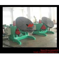 Best 5 Ton High Speed Auto Rotary Pipe Welding Turning Table Heavy Duty For Tank / Pipe / Vessel wholesale