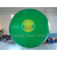 Best Giant Green Color PVC Inflatable Advertising Balloon Filled Helium Gas for Political event wholesale
